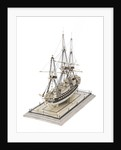 French warship by unknown