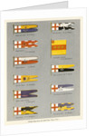 Sledge flags from the 'South Polar Times' volume 1 by unknown