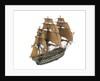 'Thunderer'; warship; 74 guns by William Haines