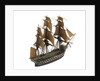 Warship; 74 guns; 3rd rate by William Haines
