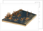 Model of the entance to the port of Marseille by unknown