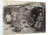 A domestic family scene in China: residents of Canton [Guangzhou], large-format albumen print. by John Thomson