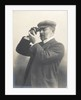 Cust demonstrating his Patent Rangefinder, circa 1904 by unknown