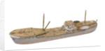 'Santa Marina'; Cargo vessel by Howard Kennard