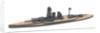HMS 'Warspite' (1913) by H.J.W. Hooke