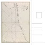 Map of the Gujarat coast by French Admiralty