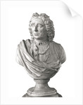 Bust of Admiral Vernon (1684-1757) by Louis-Francois Roubilliac