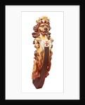 Lion figurehead by unknown