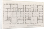 Floor plans of the Queen's House by Colen Campbell