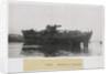 HMT 'Asama', portside near beam view slightly aft of midships by Lieutenant Commander P. F. Flett OBE