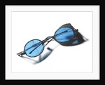 Snow goggles with blue lenses: Relic of Sir John Franklins last expedition 1845-1848 by unknown