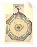 Volvelle to describe the major conjunctions of the superior planets, Saturn, Jupiter and Mars by Peter Apian