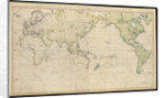 A general chart exhibiting the discoveries made by Captain James Cook in this and his two preceding voyages with the tracks of the ships under his command. By Lieut Henry Roberts of His Majesty's Royal Navy by Lieutenant Henry Roberts