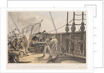 Splicing the cable on board the 'Great Eastern', 25 July 1865 by R. Dudley