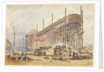The building of SS 'Great Eastern' by John Wilson Carmichael