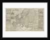 New Map of Europe Done from the most accurate observations communicated to the Royal Society's at London & Paris by Thomas Bowles