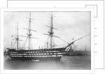HMS 'Duke of Wellington' (1852) by unknown