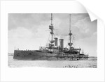 HMS 'Queen' (1902) battleship by unknown