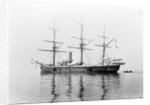 Steel screw corvette HMS 'Calliope' (1884) in 1901 by unknown