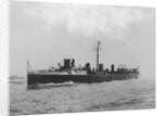 Torpedo boat destroyer HMS 'Spitfire' (1895) by unknown