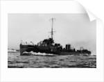 Torpedo boat destroyer HMS 'Usk' (1903) by unknown
