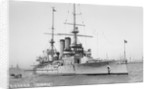 Coast defence battleship 'Eidsvold' (No, 1900) by unknown