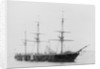 Armoured broadside ship HMS 'Warrior' (1860) by unknown