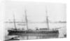 Wooden screw corvette, HMS 'Druid' (1869) by Anonymous