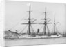 Wooden screw gun vessel HMS 'Woodlark' (1871) by unknown