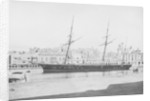 Composite screw gun vessel HMS 'Beacon' (1867), moored at Malta by Anonymous