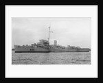 Frigate HMS 'Cranstoun' (1943) by unknown