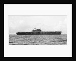 'Yorktown' (US, 1936) Aircraft carrier, under way, probably off Bermuda by unknown