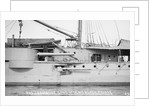Broadside guns of armoured cruiser HMS 'Black Prince' (1904) by unknown