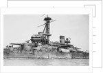 Dreadnought battleship 'Sao Paolo' (Brazil, 1909) close up, amidships by unknown