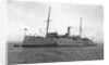 HMS 'Vulcan' (1889) submarine depot ship, moored at Portland by unknown