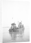 'P.L.A. Dredger No 10' (1924) at anchor in the Thames in around 1930 by unknown