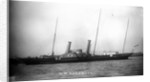 Royal yacht HMS 'Alberta' (GB, 1863) moored at Portsmouth by unknown