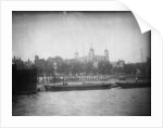 View from the river, looking north towards the Tower of London, 1907 by unknown