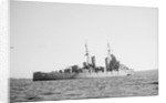 Light cruiser HMS 'Dido' (1939) anchored in Scapa Flow by unknown