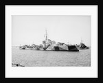Photograph of 'Kandahar' (1939) on 1st May 1941, under way in Alexandria harbour by unknown