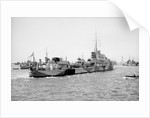 Photograph of destroyer HMS 'Kandahar' (1939) 1st May 1941, under way in Alexandria harbour by unknown