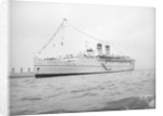 'Arandora Star' (Br, 1927) anchored in Line H at Spithead for the Coronation Review by unknown