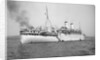 'Otranto' (Br, 1925), at anchor on the Clyde as a troopship by unknown