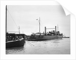 Starboard quarter view of Train Ferry No. 1 by unknown