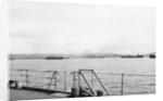 Merchant shipping, including two oil tankers, assembling at Loch Ewe in 1941 by unknown