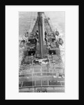 'Mechanician' (1900) aft view from crows nest by unknown