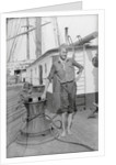 Ronald Walker, Killed at Sea by a falling yard by Alan Villiers