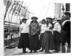 Maori children onboard HMS 'Penguin' by Willoughby Pudsey Dawson