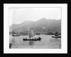 Sampans at Hong Kong by Kenneth Hurlstone Jones