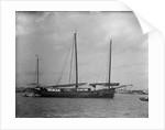 A Lorcha at anchor off Shanghai. by Kenneth Hurlstone Jones